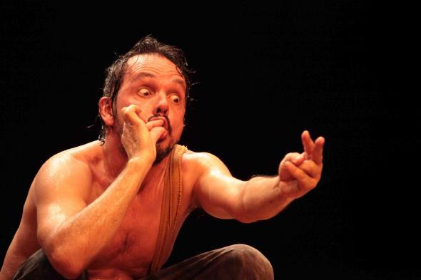 A Descoberta das Américas (Circo Pequenos Emprendimentos), foto de João Barbosa, Ass. Mindelact