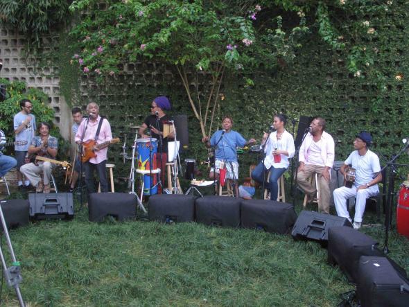 Gil, Brown, Mart'nália, Mayra Andrade, Martinho da Vila, fotografia de Marta Lança 2010