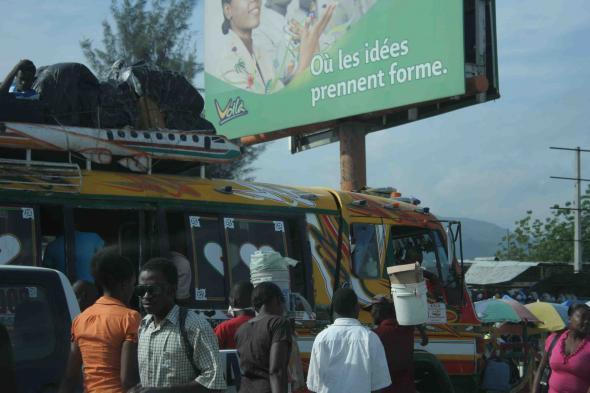 fotografia de Port-au-Prince, de Sílvia Norte