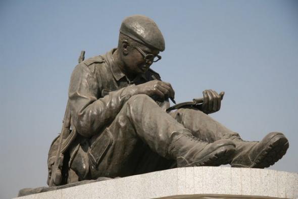 estátua de Agostinho Neto, Huambo