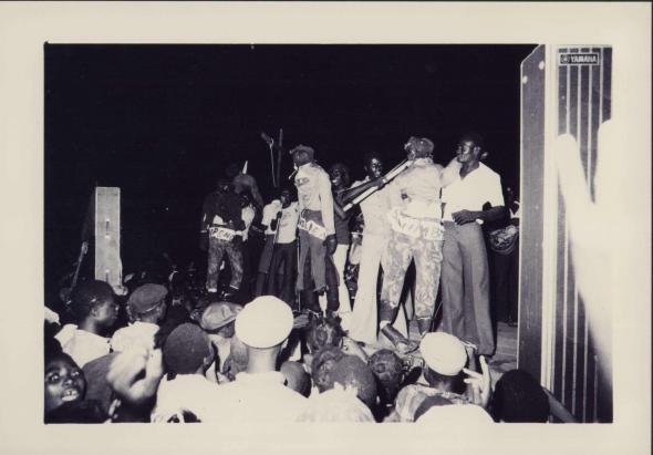 comemorações pela independência em Luanda. 11/11/1975