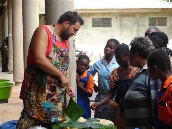 Jorge Rocha, Residência Triangle Art Trust no Gana, 2009, projecto 'Obroni'.