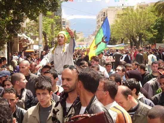 Comemorações da Primavera Berbere ( Printemps Berbère)