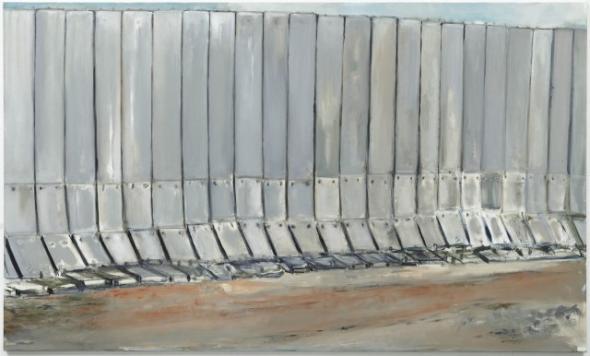 Marlene Dumas, Under Construction, 2009, óleo sobre tela, 180 x 300 cm