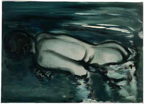 Marlene Dumas, Losing (Her Meaning), 1988, colecção privada.