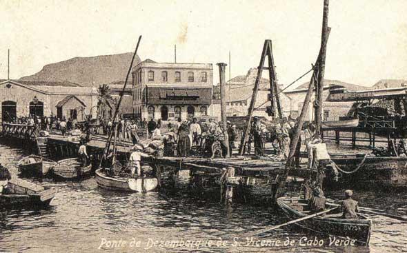 Ponte de desembarque, c. 1910
