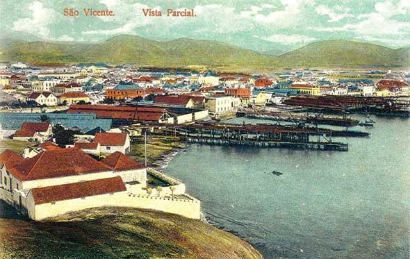 São Vicente, vista parcial, c. 1910