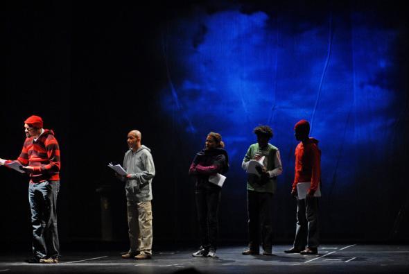 'Lisboa Invisível', Teatro Meridional. Foto José Frade.