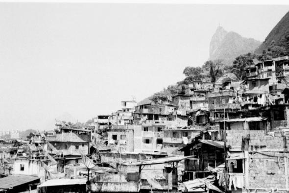 Morro de Santa Marta, Rio de Janeiro, Brazil.
