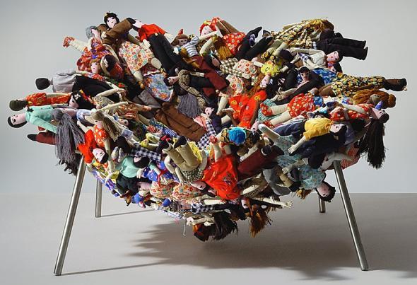 'Multidão' Chair , Irmãos Campana.