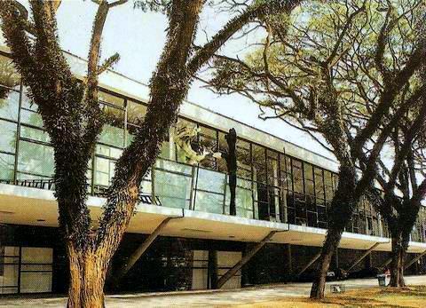 Fachada do Museu Afro Brasil, São Paulo