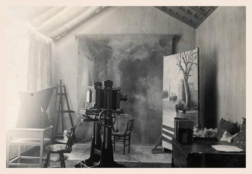 Stúdio da 'Foto Progresso' do Nhô Djunga Fotógrafo. Fotos cedidas por Jorge Martins