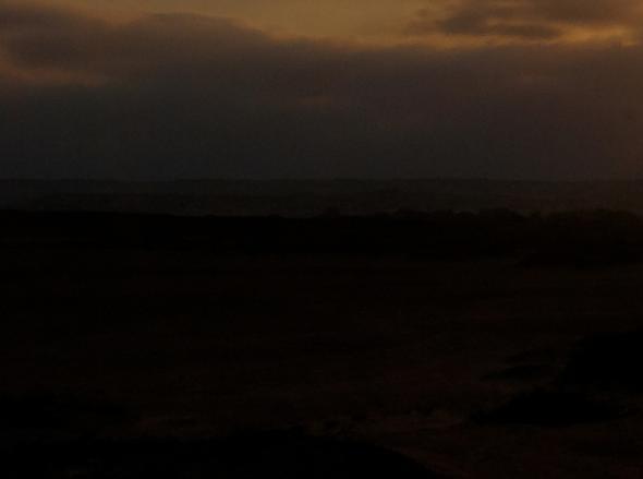 Night in the desert. Cristina Salvador, 2008
