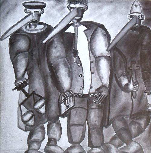 Os três pinóquios, Tchalé Figueira