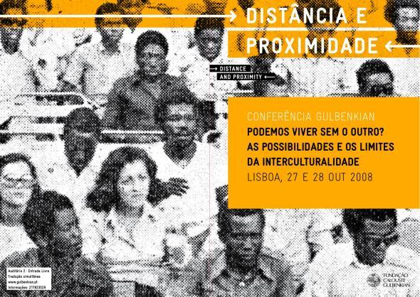 Capa programa Podemos Viver sem o Outro, 2008. Imagem de Yonamine.