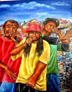 Repa, pintura de Dudu Rodrigues.