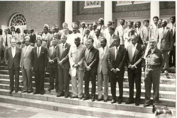 IX Cimeira dos países não-alinhados. Belgrado, 1989