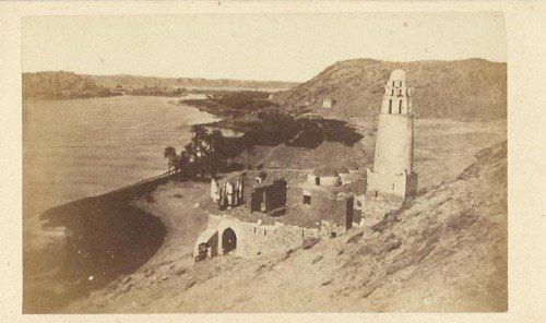 O rio Nilo em 1868
