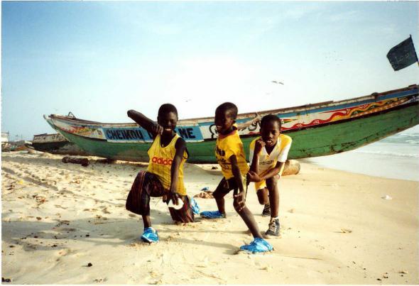praia St Louis, Senegal