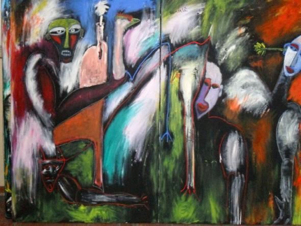 pintura de Tchalé Figueira