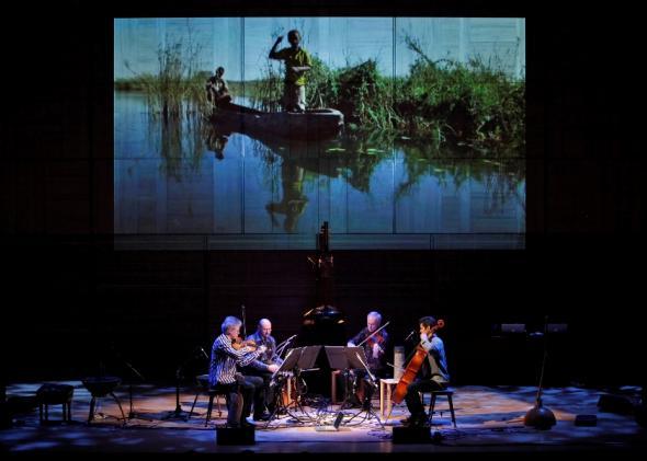 Kronos Quartet interpretam Rio Cunene de Victor Gama, cortesia Carnegie Hall ©Richard Termine