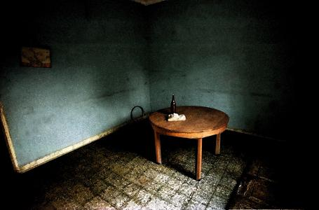 J. Liebenberg, Cloth, beer, table, 1993
