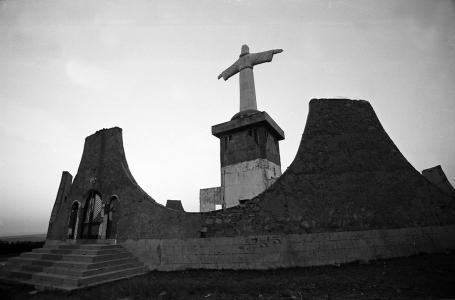 J. Liebenberg, Statue of Christ of Lubango, 1990