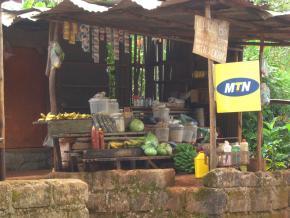 Venda de crédito para telemóveis MTN,   Bandjoun, Foto de M. Mestre
