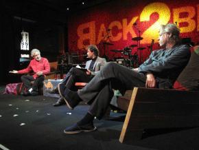Breyten Breytenbach, José Eduardo Agualusa e Bob Geldof
