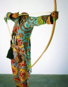Ynka Shonibare, Sir foster cunliffe playing archer