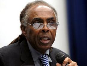 Gilberto Gil foi Ministro da Cultura de 2003 a 2008, sucedendo-lhe Juca Ferreira.