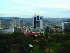 Kampala, Uganda, fotografia de  David Adjaye