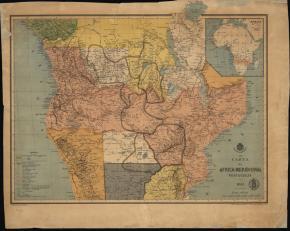 Carta da África Meridional, Biblioteca Nacional de Portugal