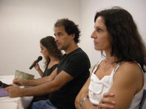 tatiana salem levy, agualusa e cláudia clemente lêem excertos dos seus livros