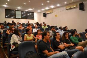 na assistência José Eduardo Agualusa, João Afonso e Tatiana Salem Levy