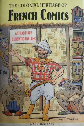 Capa do livro The Colonial Heritage of French Comics, de Mark McKinney.