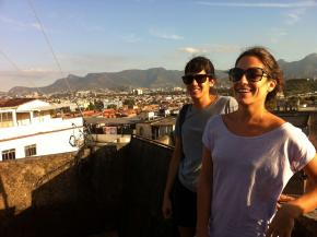 as realizadoras Juliana Borges e Fernanda Polacow