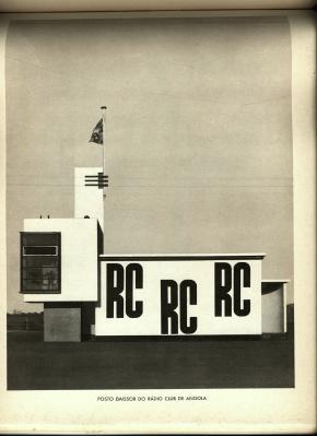 Posto emissor do Rádio Clube de Angola