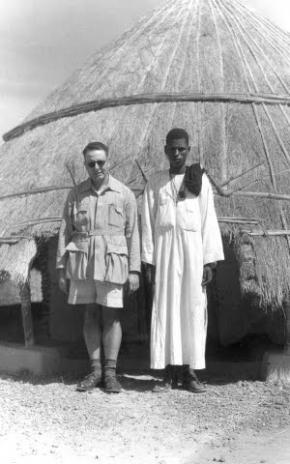Orlando Ribeiro and Talibé, Bissau, 1947