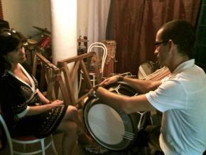 (Filipe Henda – percussionista, formador e construtor em 22ª recolha de entrevista)