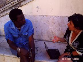 (à conversa com Kimi Djabaté – músico e construtor de balafons – em 14ª recolha de entrevista)