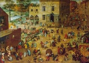 Jogos de crianças, de Pieter Bruegel