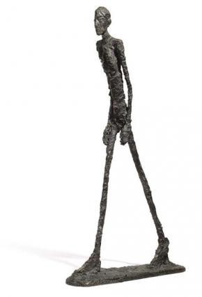 O caminhante, de Alberto Giacommeti