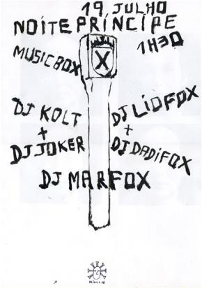 Poster de Márcio Matos.