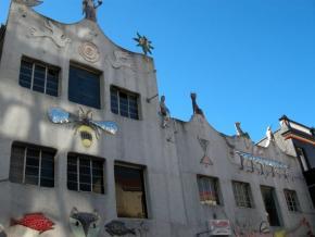 edifício na Cidade do Cabo, fotografia de Marta Lança