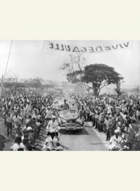 Voyage du général de Gaulle à Brazzaville, 23 août 1958