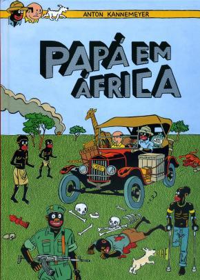 Anton Kannemeyer - Papá em África, capa