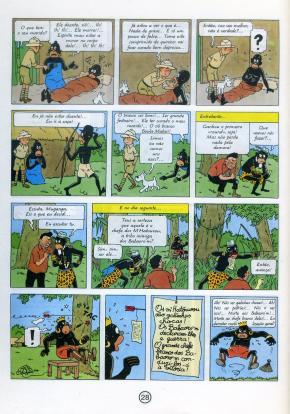 Hergé - Sequência de Tintin no Congo