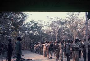 Agostinho Neto, Frente Leste, Angola 1968. © Augusta Conchiglia