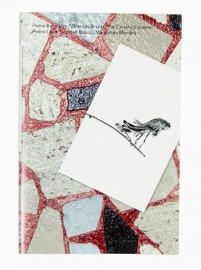 Capa da versão inglesa do livro Palmeiras Bravas/The Current Situation. Design: Studio Manuel Raeder.